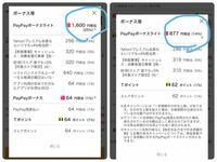 日曜日なのでソフトバンクユーザー特典が使えるpaypayモールで買い物をしようとしています。 6380円の買い物でボーナスが27%獲得と表示がされるのですが、手続きに進むと16%獲得になってしまいます。 日曜日ソフ...