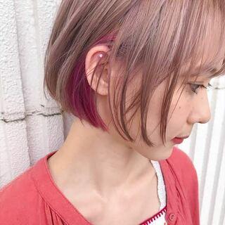 自由 髪 バイト 色