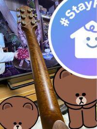 サイレントギターのslg200sなんですけど、マホガニーネックでこんな柄ってあります?品質的に大丈夫でしょうか。
