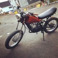 このバイクって何ccですか? 友達が乗ってるバイクで90knは出るって言ってました