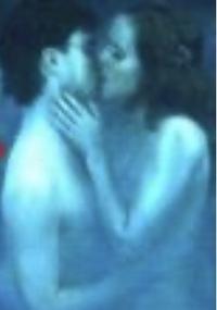 ハリーポッター死の秘宝Part1の、 ロンが分霊箱を壊す時に出てきた、 ハリーとハーマイオニーが裸でキスしてるシーンは、本当に裸でキスしながら撮ったんですか? それともCGですか?