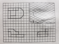 製図 この立体図の書き方を教えていただけませんか? お願いします。
