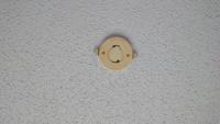はじめて賃貸を借りたのですが、電気がなくて... 代わりに丸いやつがありました... 上京したばかりでわからないんですけど、丸い電気を買えば良いですよね?