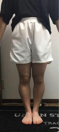 この足の太さでショーパンはキツイですか? 10代〜20代の男女の方になるべく回答して欲しいです!!
