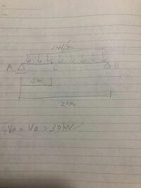 各部材の曲げモーメントを求めよ。 この問題の意味がわからないです。 曲げモーメント図を書いたりM maxを求めることはできますが各部材の曲げモーメントを求めよというのはどうゆうことですか?