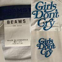 ガールズドントクライのtシャツで偽物か知りたいです。どなたかわかる方お願いします。