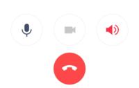LINE通話中に以前はスピーカーボタンを押したら緑だったんですが、赤になりました。ミュートもカメラモードも同じです。原因がわかる方いらっしゃいますでしょうか?