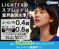Light FXの宣伝に出ているこの人は、伊藤詩織さんですか?
