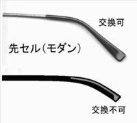 メガネの先セル(モダン)の劣化ついて  先セル(モダン)が皮脂などで臭くなりやすく、洗浄しても臭いがとれません。 これから先ずっとちょくちょく先セルを交換していくのは面倒なので、先セル がないタイプのメガネを購入しようかと考えています。  そこで疑問なのですが、先セルがないタイプのメガネも耳にかける部分が劣化するんでしょうか? 先セルがないタイプのメガネが臭くなって洗っても臭いが...