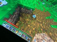 Minecraftのオウムなんか変な色してる このオウム白になったり黒になったり変な色になる これもアプデ??? それともただのバクですか??  ちなみSwitch版です