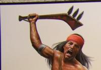 この武器の質問です アメリカのネイティブアメリカンの戦争で 先住民族が使っていたこの武器の 名前はなんですか?