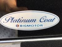 先日購入した我が家の軽自動車ですがこちらのステッカーって、ビックモーターのコーティングの証明ステッカーなんでしょうか?
