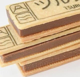 お菓子,商品名,相手,山梨県都留市,板チョコクッキーサンド,ツルブンサンド,チョコサンドクッキー