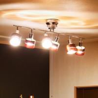 画像にある6灯式のシーリングライトのみを6畳の部屋に設置したら暗いでしょうか? 電球はLEDフィラメント電球 60Wを使いたいと思っています。  よろしくお願いいたします。