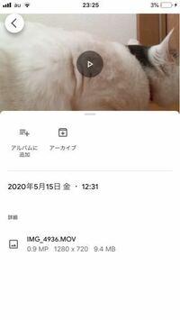 グーグルフォトについてです iPhoneの写真一覧から、アルバムに追加を選べばそれでクラウド上に保存されたことになりますか?