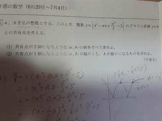 解き方,整数,x軸,頂点,絶対値,解