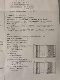 高校数学Iです。写真の問題なんですが、解説を読んでもよく分かりません。誰かもっと分かりやすくした解説をお願いします。最小値、最大値を求めるところから分かりません。