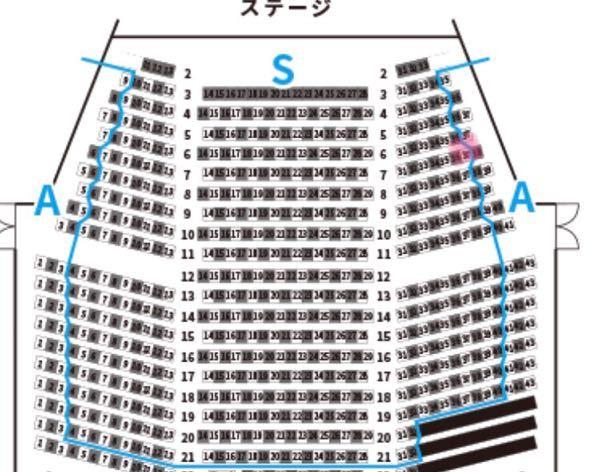 劇団四季のアラジンを見に行く予定です この席ってみずらいと思いますか?
