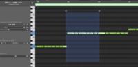 Logic Pro Xについて質問です。  Logic Pro Xでピアノロールで編集をしていると、ドラッグして引っ張る操作をすると普段と違うような結果になってしまい直し方がわかりません。 写真のような結果になります。 ...