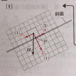 摩擦力,力F1,単元自体,理科,始点,一直線上,作用線上
