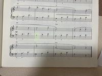 この楽譜のみどりのところはシャープなしのシで大丈夫でしょうか。