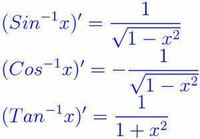三角関数を微分すると三角関数になるのに 逆三角関数を微分すると逆三角関数にならず 多項式になるのはなぜですか?
