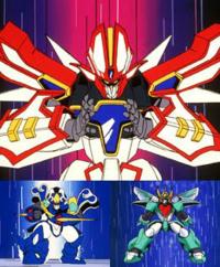 ロボットアニメ(年代やジャンル問わず)でどれが好きですか? 1番好きなロボットアニメの画像もお願いします。 自分は 1)魔道王グランゾート 2)機動戦士ガンダム(ファースト) 3)起動警察パトレイバー ...