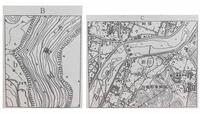 高校 地理B 地形図 わかる方、解説をお願いします。  ①地図Bのb地点の標高は? (答:245m)  ②地図Bの千歳川の流れている方向(4方位) (答:北)  ③地図C中の新田は市川の右岸である。〇か×か。 (答:×)