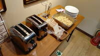ネットカフェ「快活クラブ」の食パン焼き機についての質問   私はよくネットカフェ「快活クラブ」を利用します。なので無料モーニングのトーストを食べることが多いです。 私はトーストは、あんまり焼きたく無...