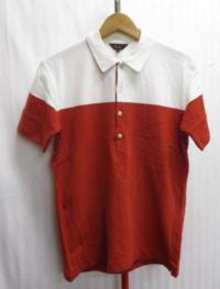 ポールスミスのレッドとホワイトのバイカラーのポロシャツです。 レッドのポロシャツって初なんですけど、パンツの色は何色が合うでしょうか? ブラック、グレー、ネイビーなど基本的なパンツカラーでどれが合う...