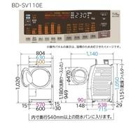 ドラム式洗濯乾燥機を購入したいのですが、洗面所の入り口が68センチです。 洗濯機自体はホースを取り外して横幅が60センチなのですが搬入可能でしょうか?