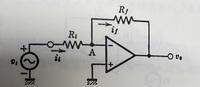 オペアンプを用いた反転増幅回路の電圧増幅率と入力インピーダンスについて質問です。 理論的にはオペアンプの入力インピーダンスが∞のため、電圧増幅率は入力電圧に接続された抵抗(写真のRi)そのものになりますが、実際はどのようになるのでしょうか?オペアンプの入力インピーダンスをZin、出力インピーダンスをZoutとして電圧増幅率と入力インピーダンスを教えてください。