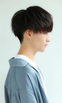 男の、このようなマッシュの髪型では、トップの毛はどのくらいまでのばさないといけませんか?