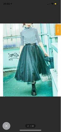 このスカートにつま先まで黒のハイカットのコンバースは合いませんか?