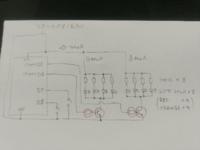 トランジスタとIb抵抗に関する質問です。 Arduinoを使用した以下の回路図を使用して、LEDの明るさを調整する物を作ろうとしています。  赤丸のトランジスタのIbに必要な抵抗値と、適切なトランジスタを教えて頂きたいです(型番があると幸いです)。
