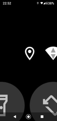 スマホの画面の右上にあるこのマークはなんですか?