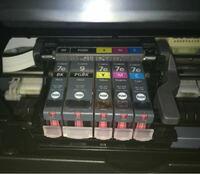キャノンのプリンターのインクを替えたら U052プリントヘッドの種類が違います、と表示されてしまいました。どうすれば治りますか?
