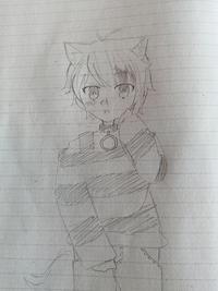 莉犬くんを描いてみました!! いいところ、悪いところ、アドバイスを言ってくれると嬉しいです! よろしくお願いします(◡ ω ◡) 子供っぽく描いてみました。