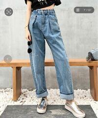 深めのタックが印象的なウエストタックハイウエストデニム&チノセミワイドパンツ ZOZOTOWNのこのズボン、返品・交換 可能な商品ですか?