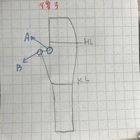 パンツスタイルの製図を勉強しているのですが、難しいです。 写真のA.Bの位置を表現するのに、名称はありますか?