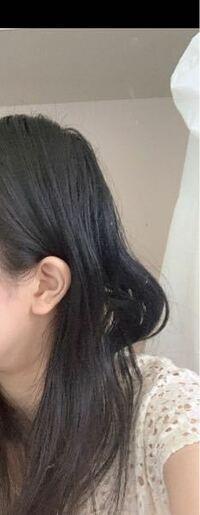 後ろ髪が勝手に曲がります。髪をとかしてもこうなります。どうしてでしょうか…