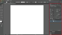 イラストレーターに詳しい方お願い致します。  イラストレーターの右側のところが消えてしまいました。 ネットで調べたらTABを押すと戻る、と書いてありましたが全く何も起きません。  左 側のツールはウィンドウ→ツールから初期設定で戻りましたが右側のツールを表示させる方法が分かりません。 どうしたらいいか教えて下さい。
