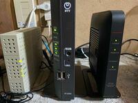 ネット接続について NTTのOCN光に契約していてRT500KIという機械から有線でPCに接続をしていましたが、無線に変更する為バッファローのルーターWSR2533DHPL2を購入し、無線で接続したところWiFiはひろいますが、...
