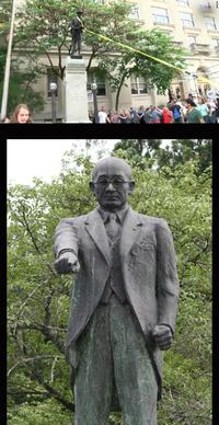 「辻正信」の銅像は引き倒されないのでしょうか? 欧米では間違った歴史観から建てられた「銅像」が引き倒されたり、撤去されると言う事件が起きています。  日本では「辻正信」とか銅像になってそびえ立っとり...