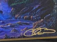 ショッピングモールで開かれたアールビバンが開いたディズニーの絵画展でラッセンの版画を購入しました。 展示会の説明の時に絵の中にサインとシリアルナンバーが描かれると言われたような  曖昧な記憶なので違っ...
