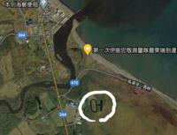 北海道の別海町にあるこの〇で囲った場所なにですか?