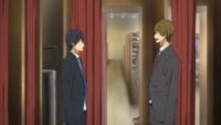 Free!の真琴と遙がスーツ着てる回は何話でしょうか?OVAですか?