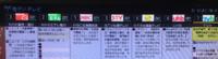 この番組表は、関東向けですか