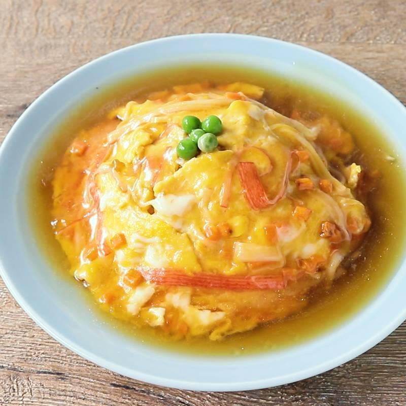 朝ごはんが天津飯だったらどうですか?