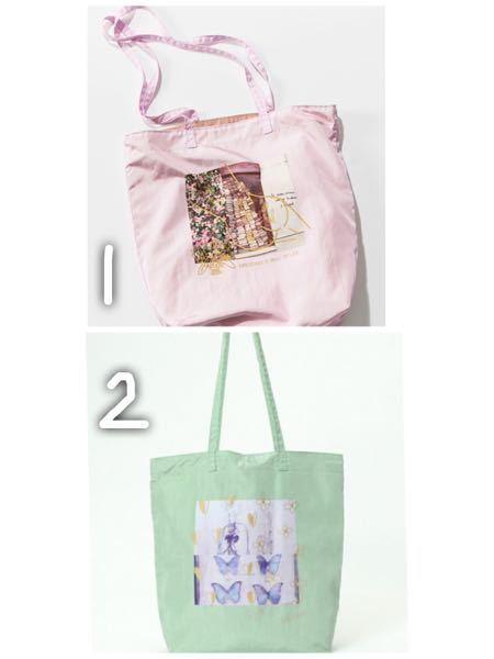 どっちのトートバッグの方がおしゃれだと思いますか?